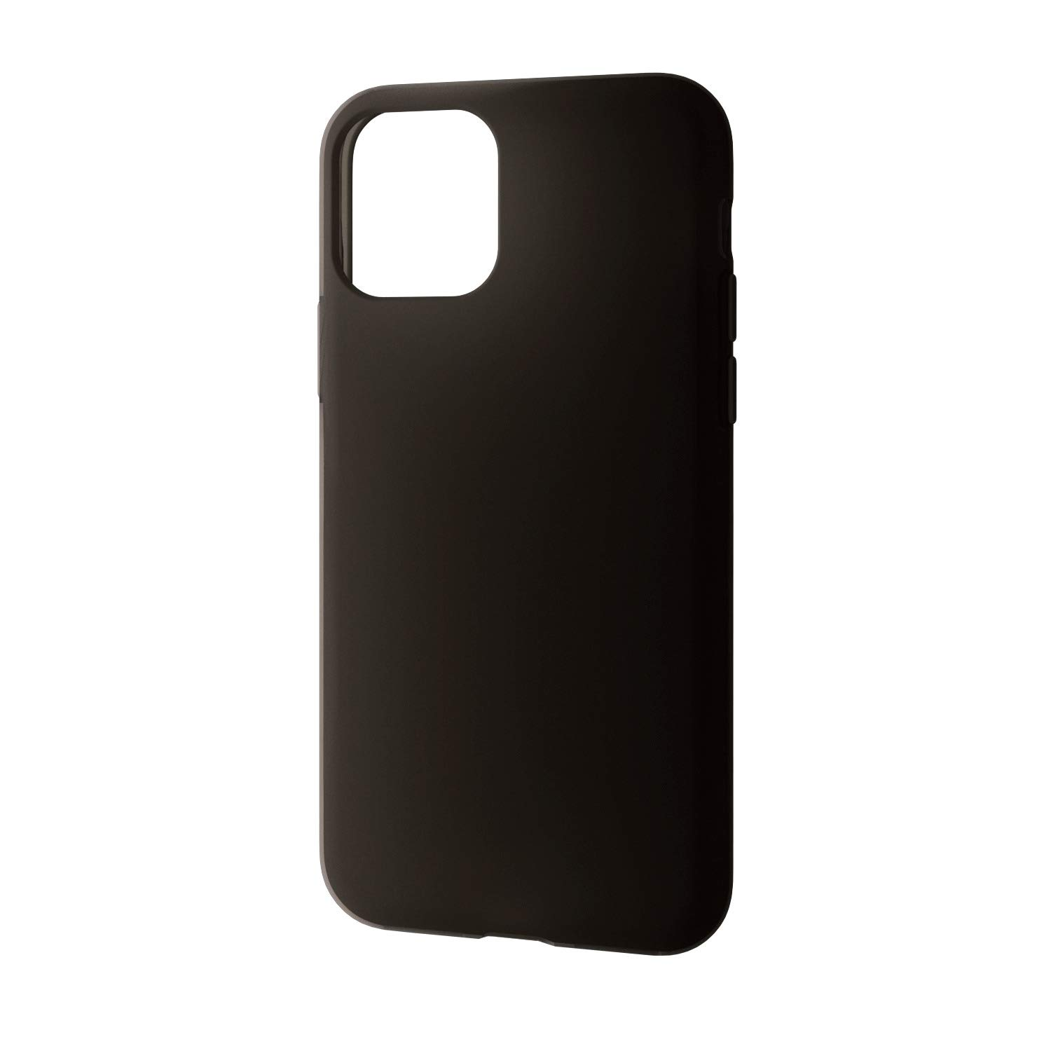 ELECOM-Japan Brand-Smartphone Soft Silicon Case Compatible with iPhone 11 Pro Black PM-A19BSCBK