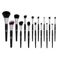 ENERGY 15Pcs Makeup Brush Set Professional Premium Face Makeup Brushes for Powder Liquid Foundation Blending Blushing Concealer Eyeshadow Best Christmas Gift(No bag included)