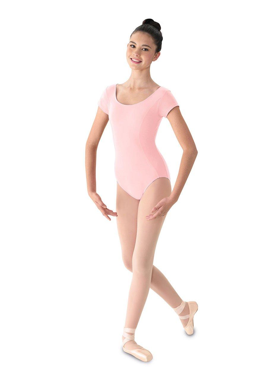 Mirella Women's Princess Seam Cap Sleeve Dance Leotard