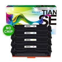 TIANSE Compatible Toner Cartridge Replacement for HP 414A 414X W2020A W2021A W2022A W2023A for HP Color Laserjet Pro MFP M479fdw M454dw M454dn M479fdn Printer (No Chip, B/C/M/Y 4-Pack)
