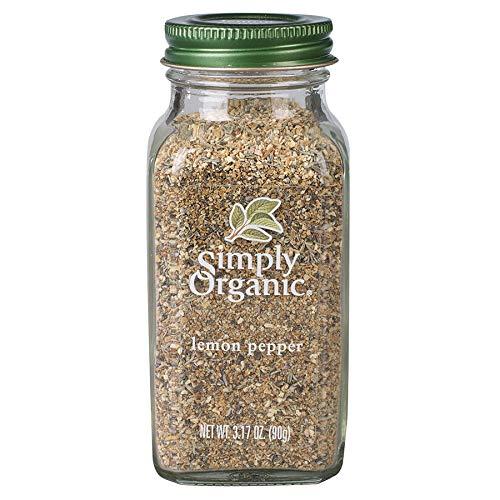 Simply Organic Lemon Pepper, Certified Organic | 3.17 oz