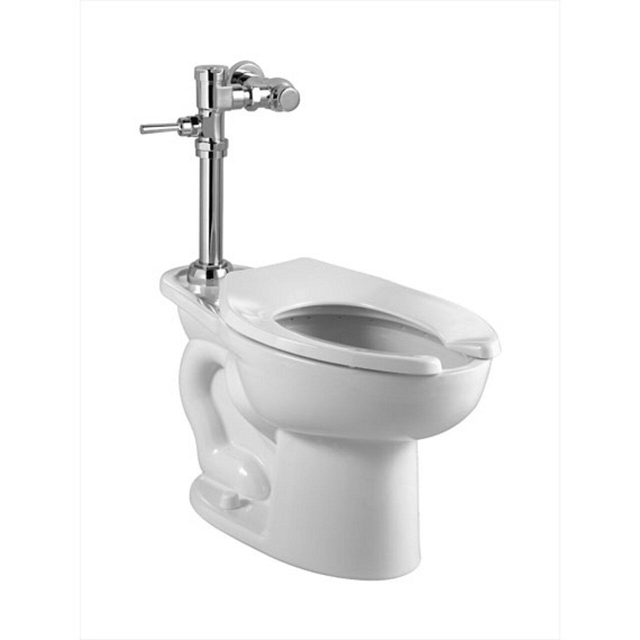 American Standard 2857.128.020 Madera ADA 1.28 GPF Toilet with Manual Flush Valve, White