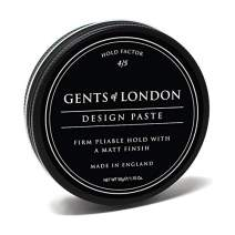 Gents of London Design Paste Matt Firm Hold Professional Hair Styling Wax (1.7 oz)