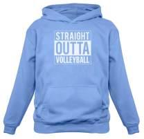 TeeStars - Straight Outta Volleyball Women Hoodie