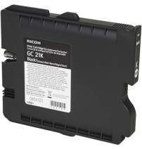 Ricoh 405532 Black Ink Print Cartridge Type GC21K