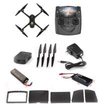 HUBSAN H501SS X4 Brushless FPV GPS Quadcopter 5.8 Ghz Drone with 1080P Full HD Camera and Follow-Me Mode RTH Function Black & Gold