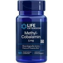Life Extension Methylcobalamin 5mg, 60 Vegetarian Lozenges