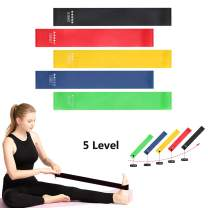 we fleece Resistance Bands for Legs and Butt,Exercise Bands Set Booty Bands Hip Bands Wide Workout Bands Sports Fitness Bands Resistance Loops Band Anti Slip Elastic