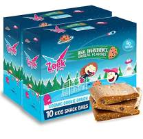 Zeek Kids Protein Bars- High Protein, Low Sugar Snack Bar for Kids. Picky Eater Approved and Real Ingredients! Great for Lunch Box, After School, or Before Practice. Gluten Free, Soy Free