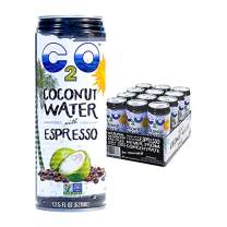 C2O Pure Coconut Water with Espresso, 17.5 OZ