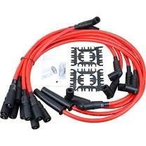 Dragon Fire Race Series High Performance 10.2mm Ignition Spark Plug Wire Set Compatible Replacement For 1992-1997 Chevy GM LT1 LT4 5.7L 4.3L Oem Fit PWLT1-DF