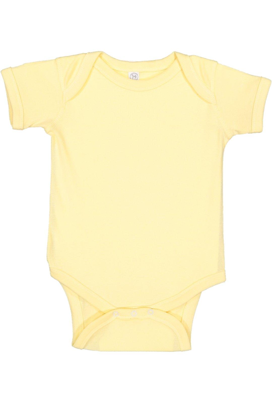 RABBIT SKINS, Baby Soft Short-Sleeve Bodysuit