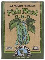 Down to Earth Organic Fish Meal Fertilizer 8-6-0, 5 lb