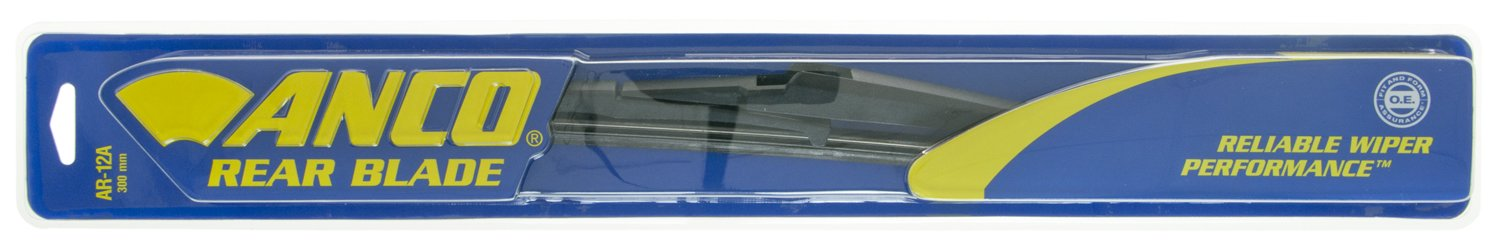 """ANCO AR-12A Rear Wiper Blade - 12"""", (Pack of 1)"""