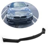 MCARCAR KIT Front Bumper Lip fits BMW 4 Series F32 F33 F36 Base 2Door 4Door 2014-2019 Add-on Factory Outlet 418i 420i 428i 435i 440i Car Fiberglass FRP Chin Spoiler Splitter Protector