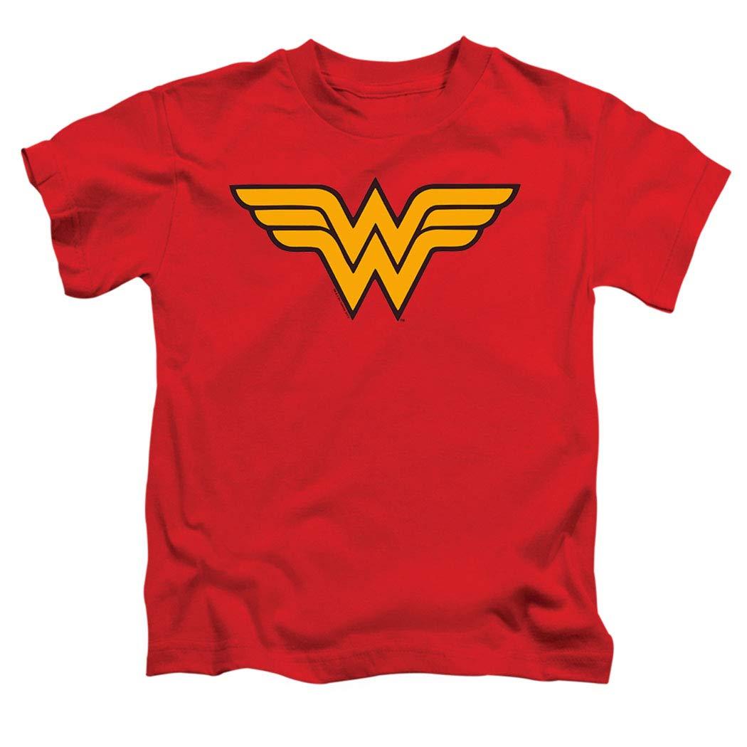 Popfunk Juvenile Wonder Woman Logo T Shirt & Stickers