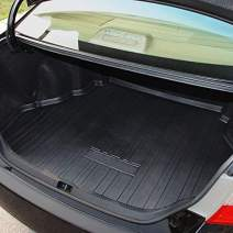 Kaungka Cargo Liner Rear Cargo Tray Trunk Floor Mat Waterproof Protector for 2013-2017 Toyota Camry