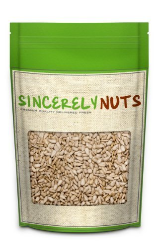 Sincerely Nuts Sunflower Seed Kernels Raw (No Shell) (1lb bag)   Delicious Antioxidant Rich Snack   Source of Protein, Fiber, Essential Vitamins & Minerals   Vegan and Gluten Free