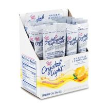 Crystal Light On The Go Sticks - 20oz Water Bottle Size - 30ct boxes (Pack of 4) - Lemonade