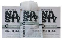 """NASTY Body Wipes for Men, Women, Teens, After Workout Cleansing Wipes, Extra Large(10""""x12""""), Individually Wrapped (20 Count)"""