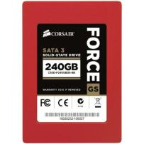 Corsair Force Series GS Red 240GB  (6Gb/s) SATA 3 SF2200 controller Toggle SSD
