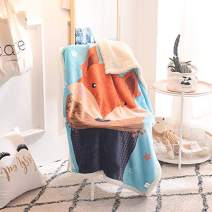 MICBRIDAL Fox Throw Blanket Kids Sherpa Blanket Super Soft Throw Blanket for Boys Girls Adults Warm Fox Sherpa Throw Blanket for Couch Sherpa Blanket Animal Print Throw Blankets(39 x 55 Inches)
