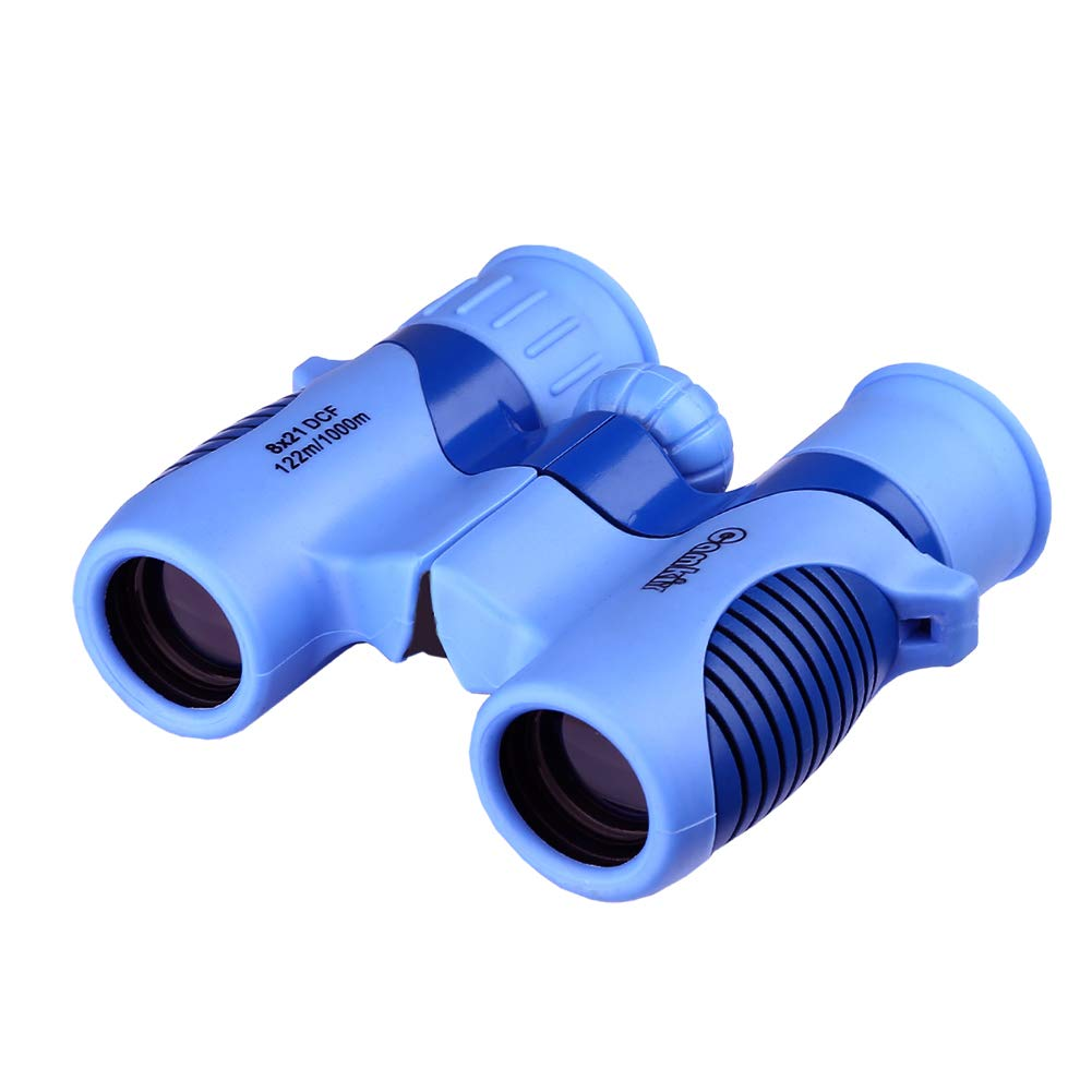 Kids Binoculars, 8x21 High-Resolution Real Binoculars for Boys Bird Watching Camping Hunting Hiking Star Gazing Best Holiday Birthday Gift