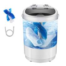 InLoveArts Portable Shoes Washing Machine, Mini Portable Washing Machine, Smart Lazy Automatic Shoes Washer, For Apartments Camping Dorms Business Trip College Rooms