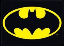 """Ata-Boy DC Comics Batman Logo 2.5"""" x 3.5"""" Magnet for Refrigerators and Lockers"""