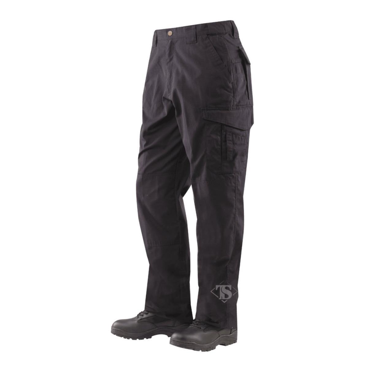 Tru-Spec Men's 24-7 Series EMS Pant, Black, 40W Unhemmed