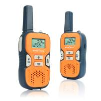 Kids Walkie Talkies Rechargeable Walkie Talkies for Kids with 22CH 3 Miles Long Range Walkie Talkie Toy for Boys Girls Toys Two Way Radios for Outdoor Camping Hunting Hiking 2 Pack