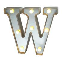 ROUDK LED Marquee Letter Lights 26 Letters Light Letters Battery Power Silver Sign Birthday Wedding Party Home Bar Christmas Lights Night Lights Birthday Party Wedding Decoration