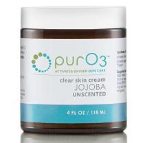 PurO3 Ozonated Jojoba Oil - 4 Ounce - Glass Jars