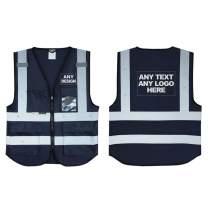 Personalised Salzmann 3M Multi-Pocket Working Vest with Custom Imprint