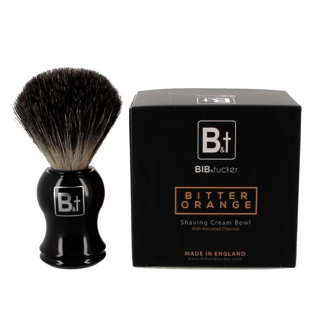 Bitter Orange Shaving Cream & Pure Badger Brush – Bib & Tucker, Men Shave Care