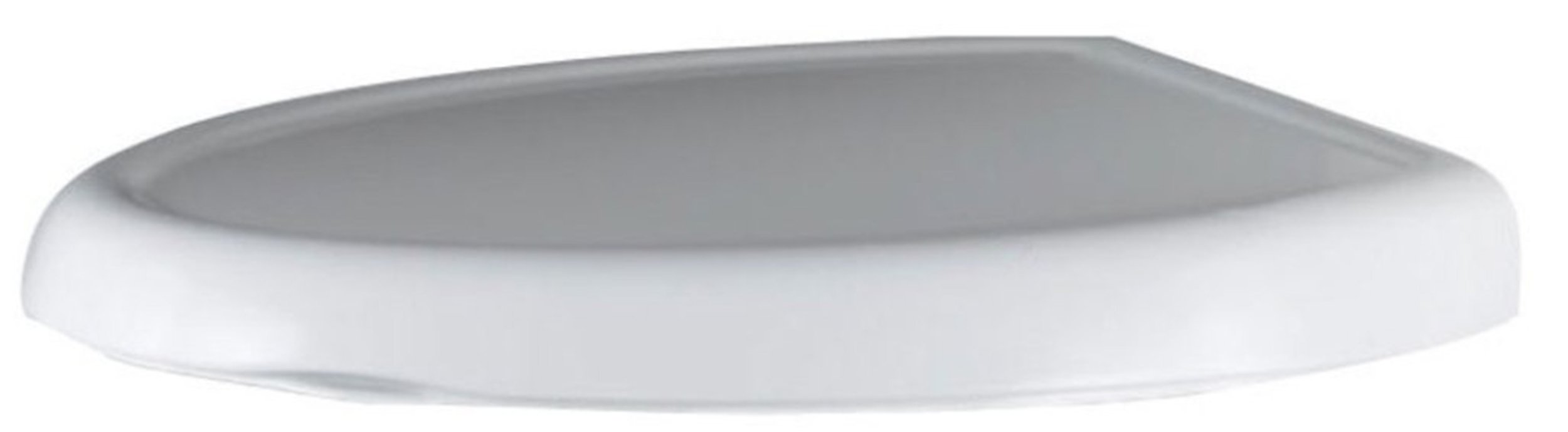 American Standard 5345.110.020 Cadet-3 Round Front Slow Close Toilet Seat with EverClean Surface, White