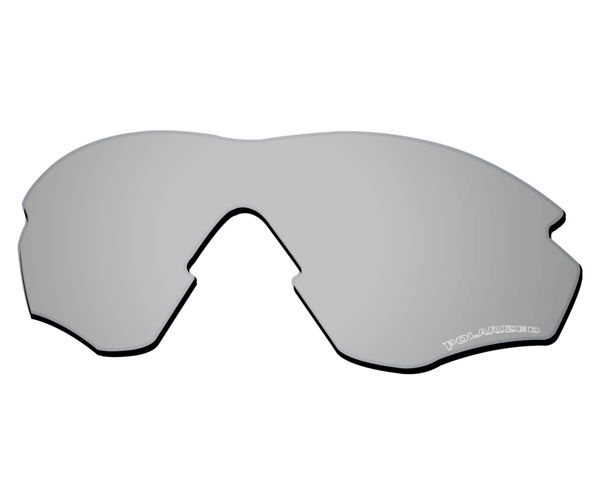 Saucer Premium Replacement Lenses & Rubber Kits for Oakley RadarLock Edge OO9183 Sunglass