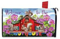Briarwood Lane Spring Nuthouse Magnetic Mailbox Cover Humor Standard