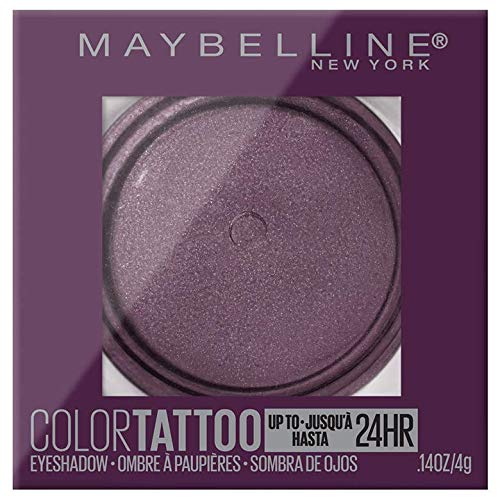 Maybelline Color Tattooup to 24HR Longwear Waterproof Fade Resistant Crease Resistant Blendable Cream Eyeshadow Pots Makeup, Knockout, 0.14 oz.