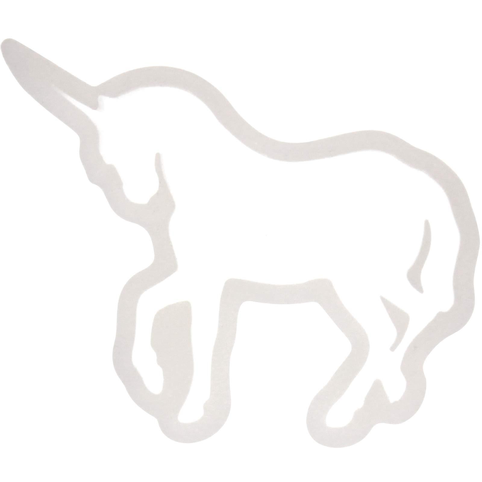 Funshowcase Cute Unicorn Silicone Mold Trays for Crafting, Resin Epoxy, Jewelry Making