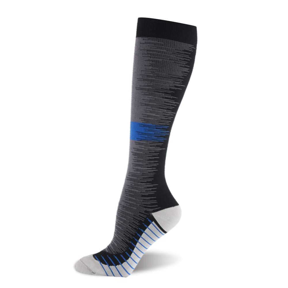 Compression Socks for Women & Men (20-30mmHg) – Knee High Compression Stockings for Running, Sports