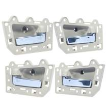 SCITOO Door Handles Interior Left Right Side Replacement fit for 2005-2011 for Jeep Grand Cherokee Beige(4pcs)