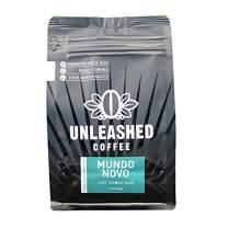 Unleashed Coffee Mundo Novo Medium Roast, Whole Bean, Café da Fazenda, Sul de Minas, Café do Brasil, Fair Trade, Micro Lot, Farm to Table, Sold by the Farmer