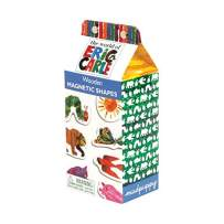 Mudpuppy The World of Eric Carle Wooden Magnetic Shapes, Great for Kids Age 3+, 35 Wooden Magnets Featuring Characters from Eric Carle's Books, Fun to Play on Any Magnetic Surface