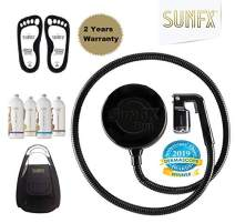 SunFX Pro Mini Spray Tan System with Hose and applicator - Black