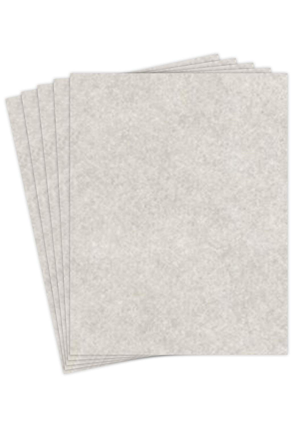 """Smoke Gray Stationery Parchment Paper – Great for Writing, Certificates, Menus and Wedding Invitations 