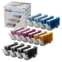 LD Compatible Ink Cartridge Replacement for Canon CLI8 (4 Black, 2 Cyan, 2 Magenta, 2 Yellow, 2 Photo Cyan, 2 Photo Magenta, 14-Pack)