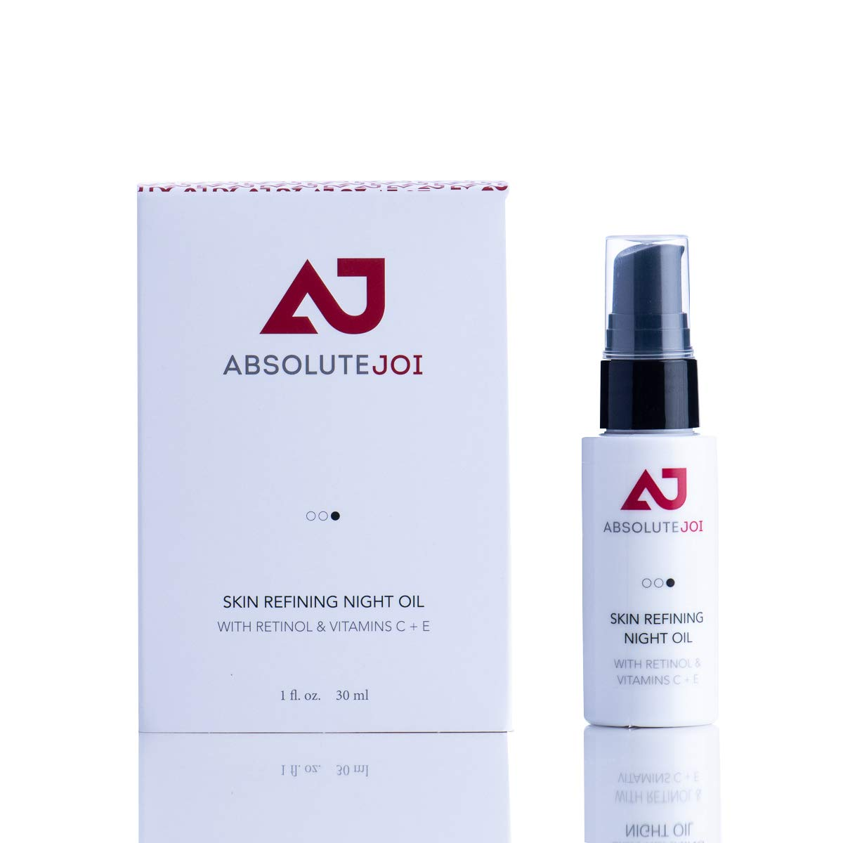 AbsoluteJOI Night Oil with Granactive Retinoid to Help with Hyperpigmentation, Anti Aging Retinol with Rosehip Oil Jojoba Oil Combo for Dark Marks, Vitamin E Oil with Retinol and Vitamin C, 1 oz