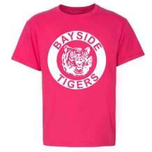 Bayside Tigers 90s Retro Halloween Costume Toddler Kids Girl Boy T-Shirt