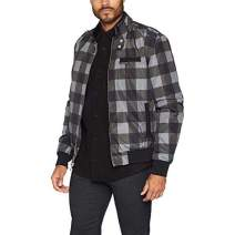 Members Only Men's Heavy Iconic Racer Quilted Lining Jacket